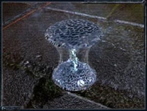 Артефакт каменный цветок представляет собой камень, клизкий п свойствам к гранитам